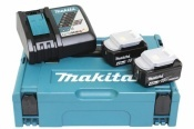 Makita Power Source-Kit 18V 4Ah 2x BL1840B + DC18RC