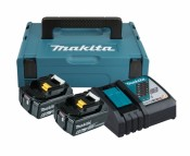 Makita Power Source-Kit 18V 6Ah 2x BL1860B + DC18RC