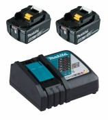 Makita 197490-7 Power Source-Kit 18V 4Ah 2x BL1840B + DC18RC